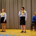 Margot Laanesaar (6. klass) ja Regina Karise (7. klass)
