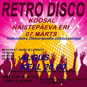 retro disco