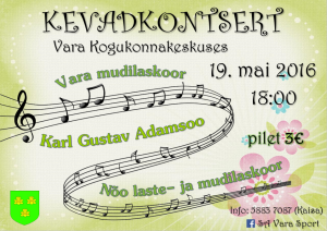 Kevadkontsert 2016