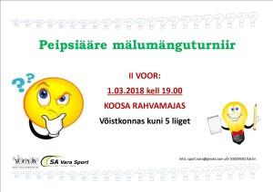 Malumang 2018 II